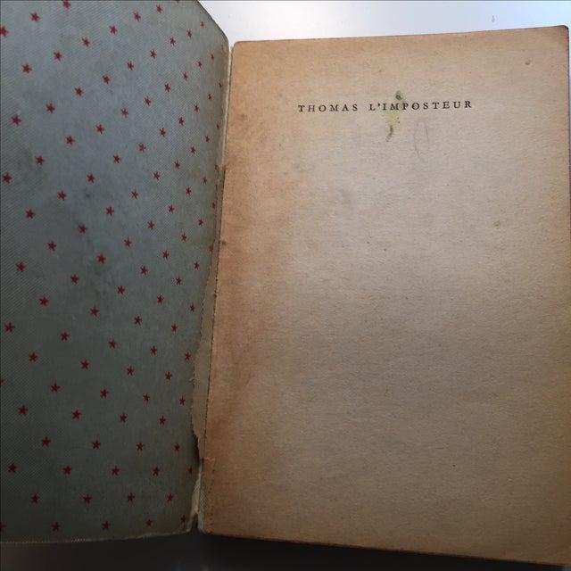 Thomas l'Imposteur Jean Cocteau 1923 Book - Image 4 of 7