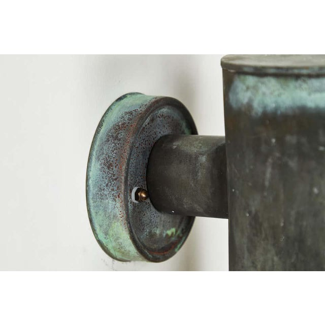 1950s Hans-Agne Jakobsson Cylindrical Outdoor Sconces - a Pair For Sale - Image 9 of 10
