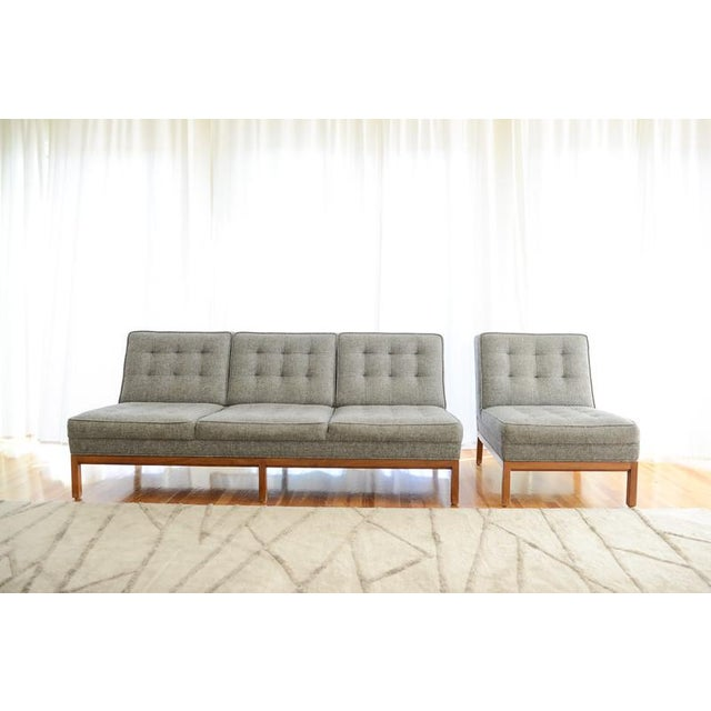 Custom Gray Modern Sofa - Image 3 of 7