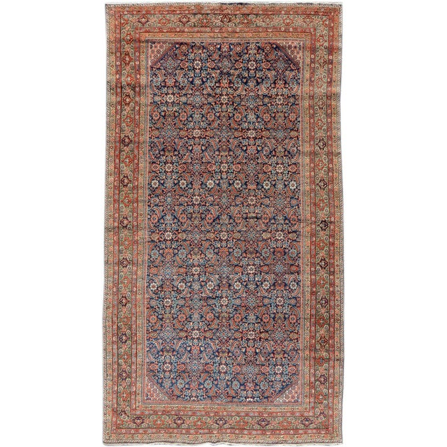 Islamic Fereghan Persian Rug - 5′3″ × 9′1″ For Sale - Image 3 of 3