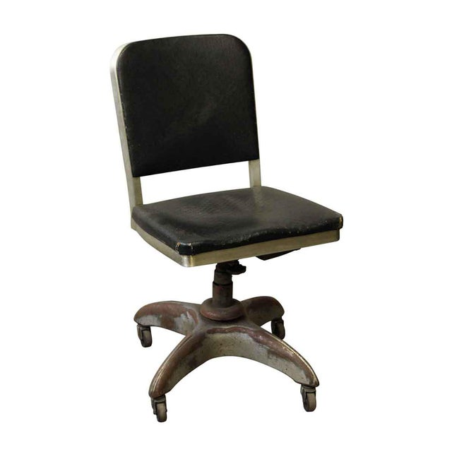 Metal 1950s Propeller Base Office Chair by The General Fireproofing Co. For Sale - Image 7 of 7
