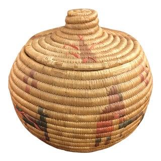 Vintage Native American Woven Basket