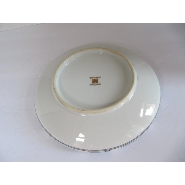 Vintage Arta Enamel Bowl With Scene For Sale - Image 4 of 5
