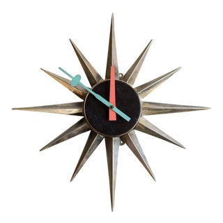 George Nelson Sunburst Clock