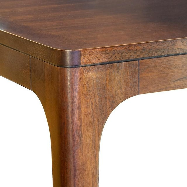 Henredon Furniture Barbara Barry Perfect Parsons Walnut Dining Table For Sale - Image 11 of 13