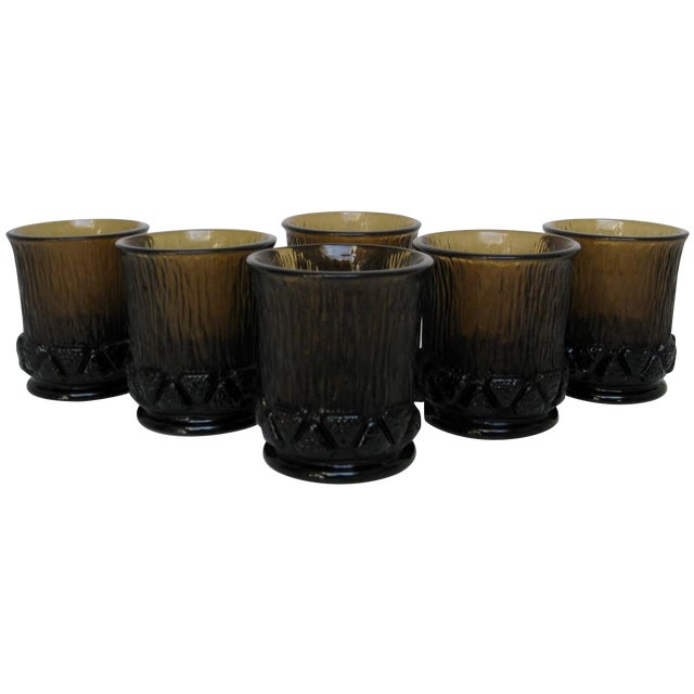 Fostoria Old Fashioned Glasses - Set of 6 For Sale