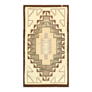 "Pasargad Native American Navajo Rug - 3'9"" X 6'11"" For Sale"