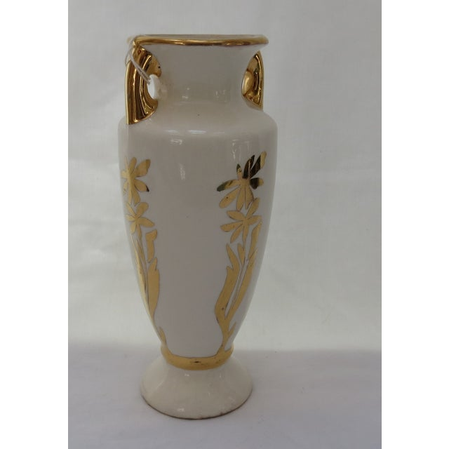1938 Art Deco Hand Painted Vase - Image 3 of 4