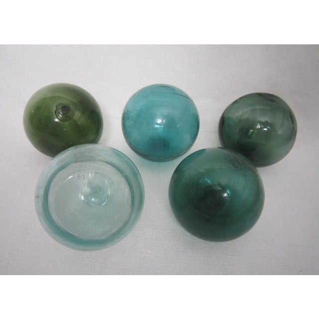Oversize Glass Floats - Set of 5 - Image 2 of 4
