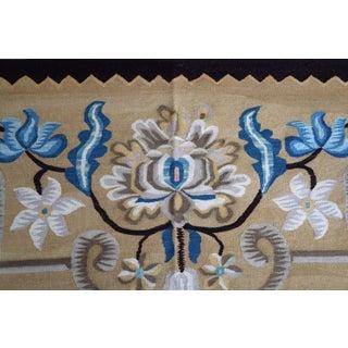 1950s, Handmade Vintage Romanian Bessarabian Kilim 5.6' X 9.2' Preview