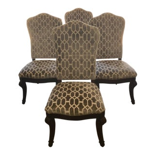 Bernhardt Traditional Dining Chairs- Set of 4 For Sale