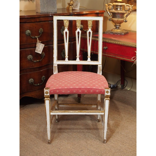 High-End 19th Century Italian Dining Room Chairs, Set of Eight | DECASO