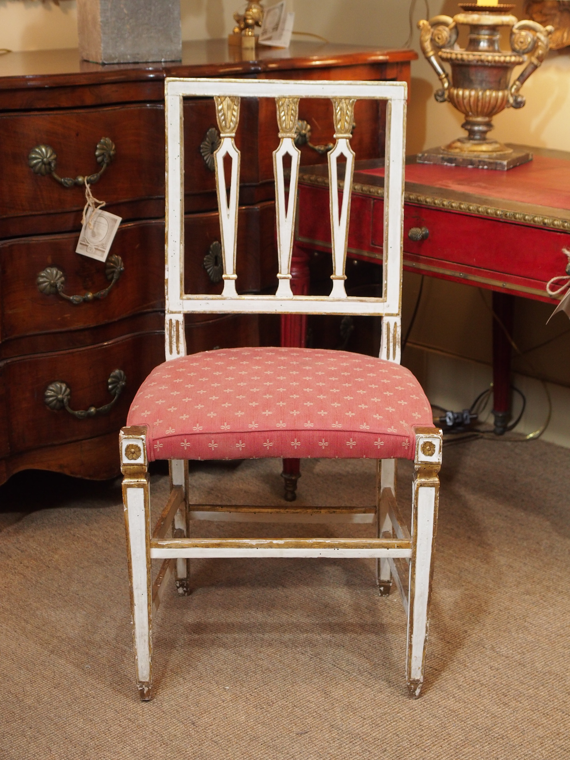 19th Century Italian Dining Room Chairs, Set Of Eight   Image 10 Of 10