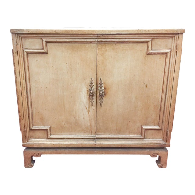 Vintage Hollywood Regency, Asian Style Two Door Cabinet - Image 1 of 8