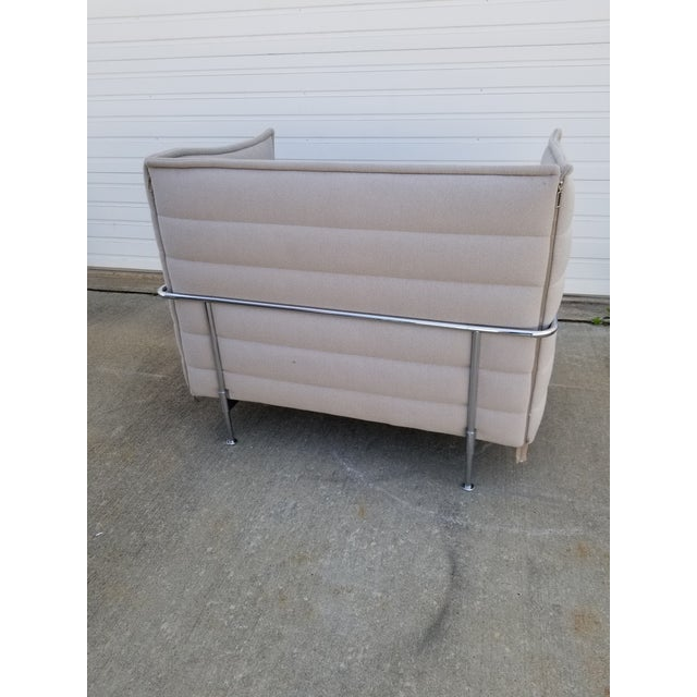 Metal Contemporary Ronan & Erwan Bouroullec for Vitra Loveseat For Sale - Image 7 of 13