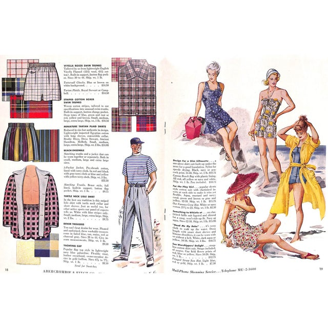 Abercrombie & Fitch Play Hours 1953 Catalog For Sale - Image 4 of 8