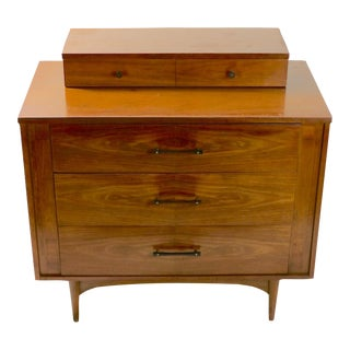 1950s Mid Century Chest on Chest by Kroehler For Sale