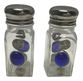 Image of Art Deco Salt and Pepper Shakers