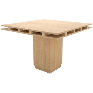 Contemporary 101 Dining Table in Oak by Orphan Work, 2019 For Sale