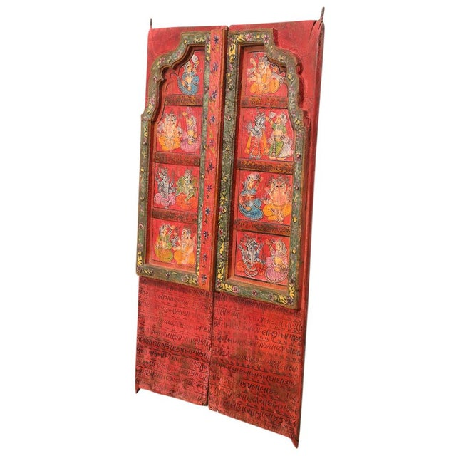 Folk Painted Mandawa Door - Image 2 of 4