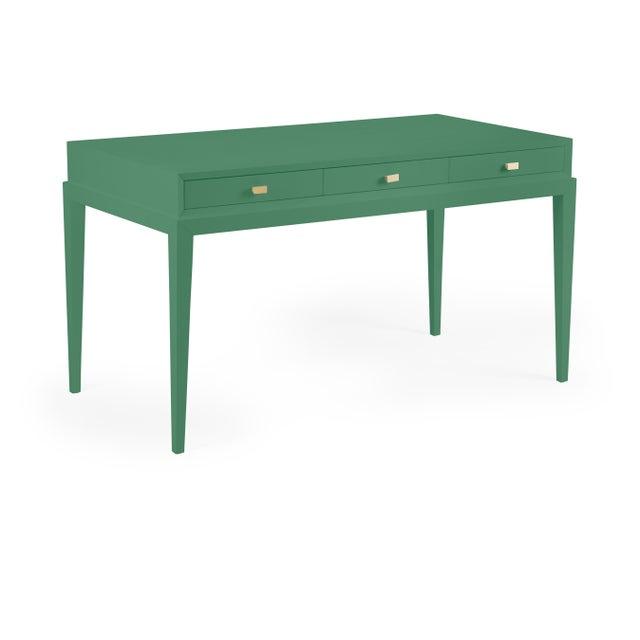 Contemporary Casa Cosima Hayes Desk in Fairmont Green For Sale - Image 3 of 3