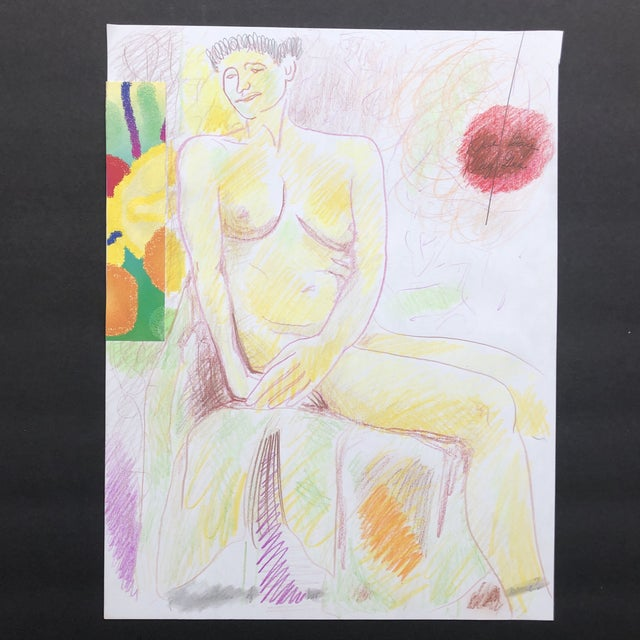 Female Nude Mixed Media Collage by James Bone For Sale - Image 11 of 11