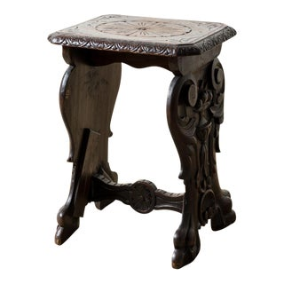 Early 20th Century Antique Museum Table For Sale