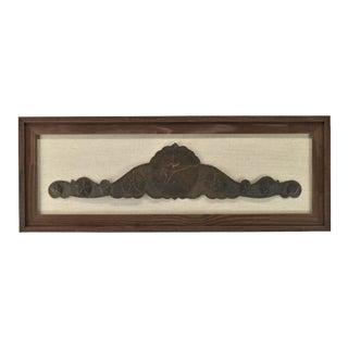 Texas Tin Star Wall Decor Barnwood Frame For Sale