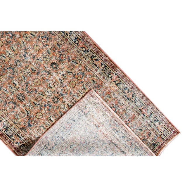 """Islamic Vintage Persian Distressed Rug, 4'3"""" X 19'7"""" For Sale - Image 3 of 12"""
