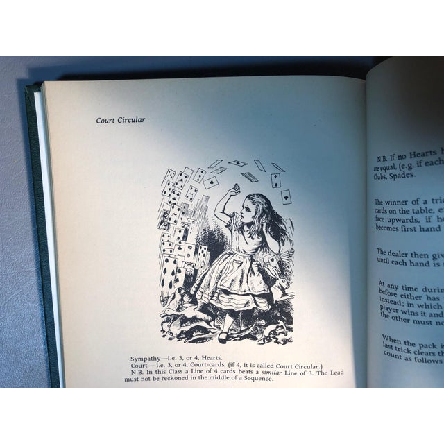 White 1973 The Magic of Lewis Carroll Hard Cover Book For Sale - Image 8 of 9
