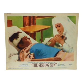 "Vintage Small Movie Poster, ""The Singing Nun"" (66/91), Metro-Goldwyn Mayer 1966 For Sale"