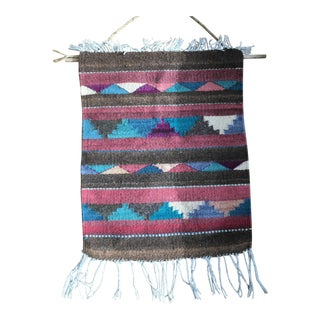 Native American Southwestern Woven Wall Hanging