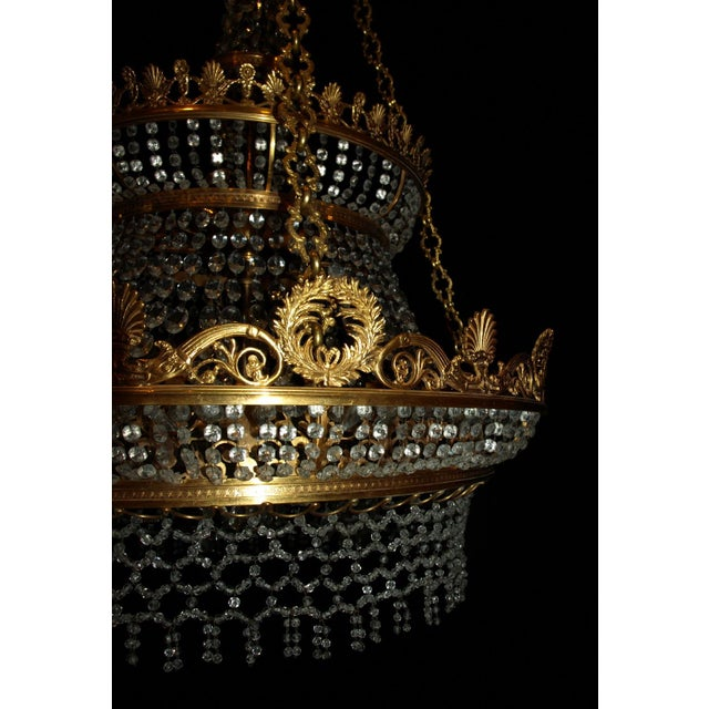 Antique Chandelier. Empire Style Chandelier - Image 4 of 7