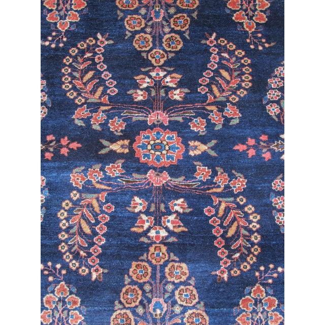 Elegant Sarouk Carpet For Sale - Image 4 of 4