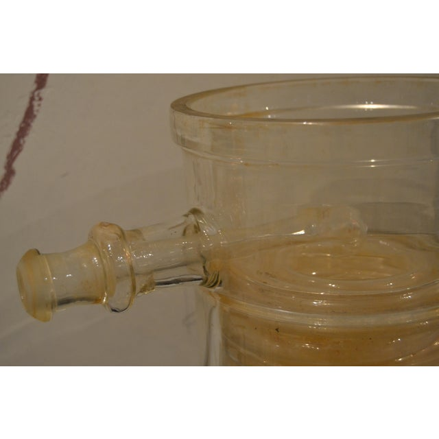 Early 20th Century French Laboratory Glass Vessel, C.1900 For Sale - Image 5 of 11
