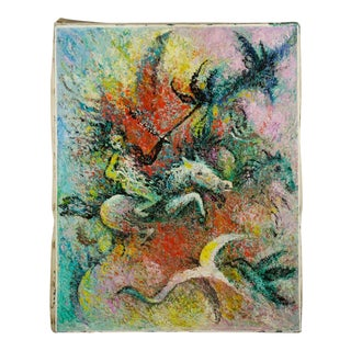 """Acrylic on Canvas """"Conquistadores"""" Painting by Charles Melohs For Sale"""