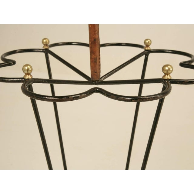 1950s Jacques Adnet Umbrella Stand For Sale - Image 5 of 10