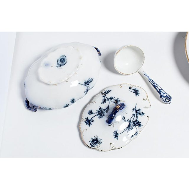 FLOW BLUE CHINA For Sale In New York - Image 6 of 6