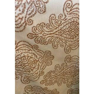Sunbrella Nola Ginger Outdoor Fabric For Sale