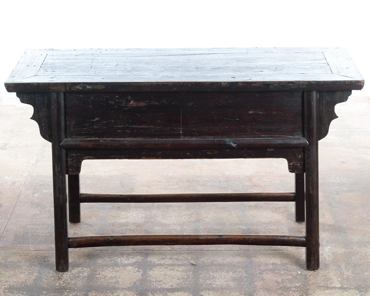 Marvelous Chinese Antique Wooden Altar Table With DrawersChinese Antique Wooden Altar  Table With Drawers   Image 9
