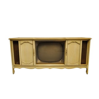 1965 3-Way With Remote Magnavox Vintage Stereo Cabinet For Sale