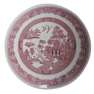 Spode Cranberry Willow Cake Plate For Sale