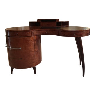 Small scaled, Maurice Villency modern free form desk