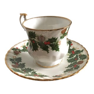 Rosina Yuletide Tea Cup For Sale