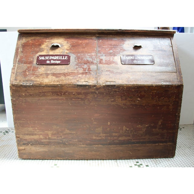 19th-C. French Flour Bin - Image 3 of 8