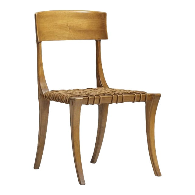 t.h. Robsjohn-Gibbings Klismos Chair For Sale