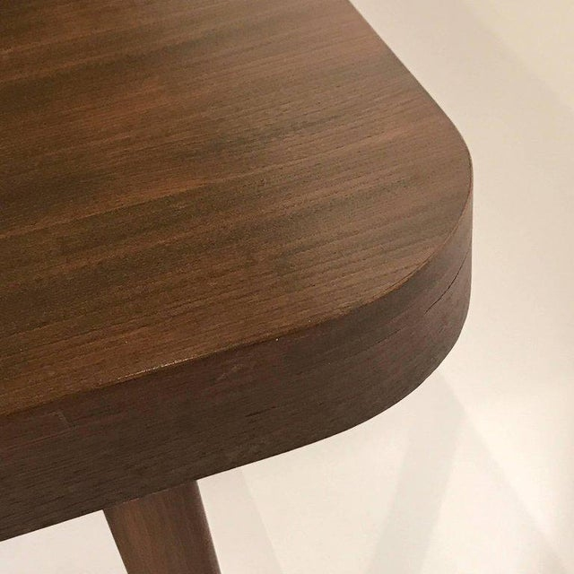 Walnut Stunning Midcentury Edward Wormley for Drexel Walnut Extension Dining Table For Sale - Image 7 of 11