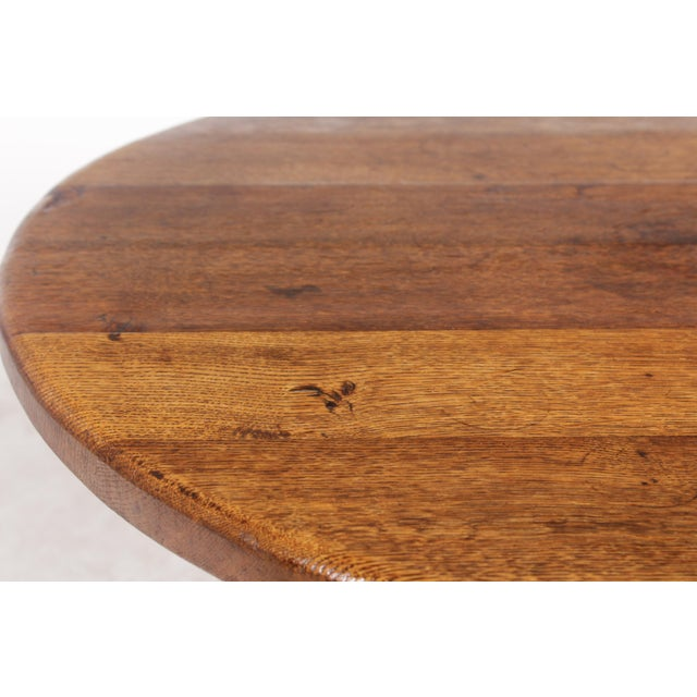 1950s Bavarian-Style Round Coffee Table - Image 8 of 9