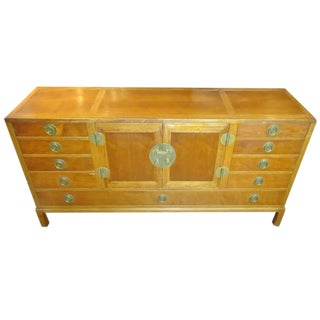 Edward Wormley for Dunbar Asian Inspired Sideboard For Sale