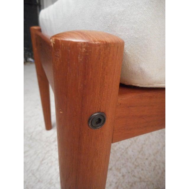 Danish Modern Lounge Chair and Ottoman by Bernstorffsminde Møbelfabrik For Sale - Image 12 of 13